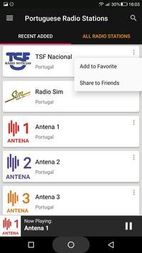 Portuguese Radio Stations screenshot 1