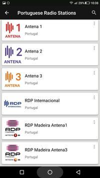 Portuguese Radio Stations screenshot 2
