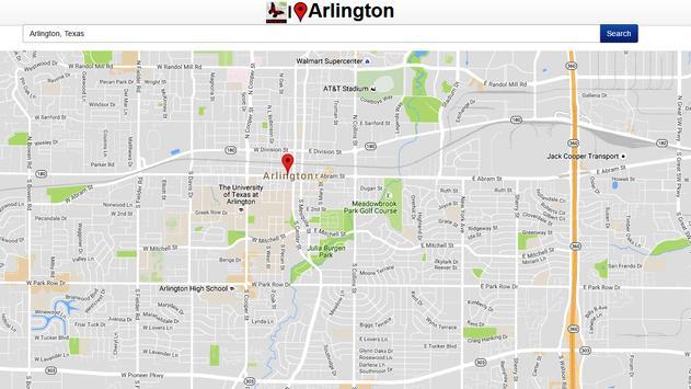 Arlington Map apk screenshot