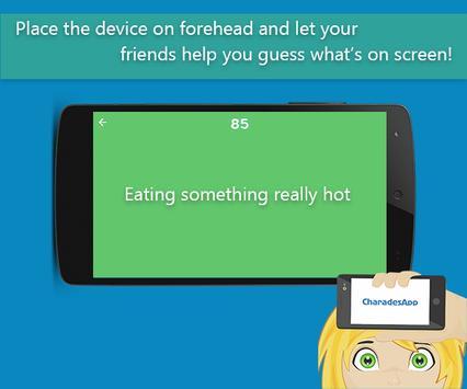 CharadesApp - What am I? apk screenshot