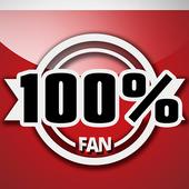 100% Fan del Toluca icon