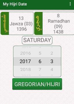 My Hijri Date apk screenshot