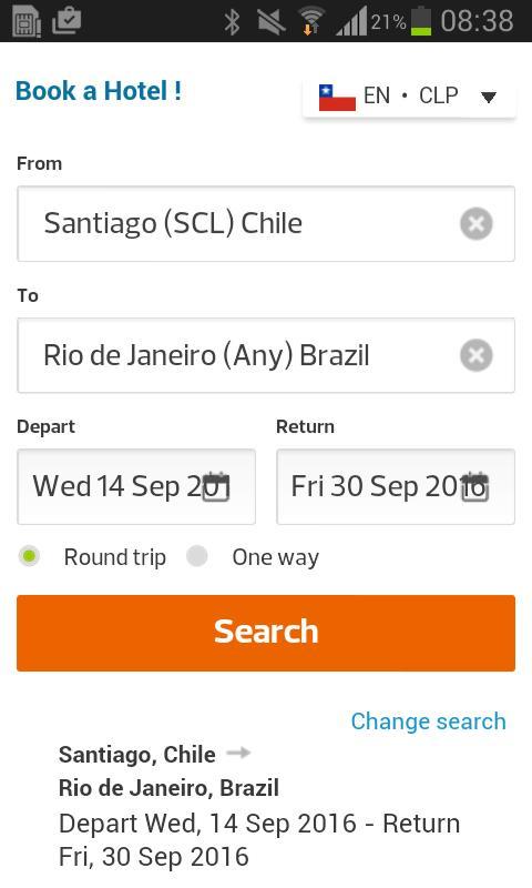 Cheap Flights Chile APK Download