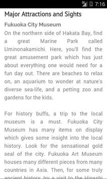 Fukuoka Travel Guide - Japan screenshot 3