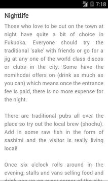 Fukuoka Travel Guide - Japan screenshot 6