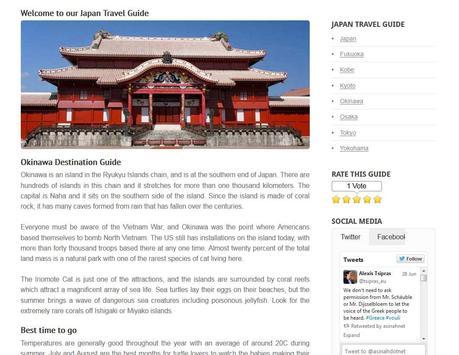 Okinawa Travel Guide - Japan screenshot 9