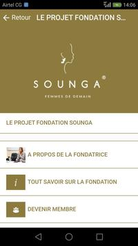 Fondation Sounga screenshot 2