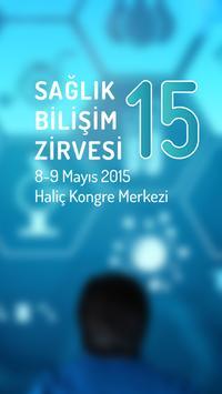 Sağlık Bilişim Zirvesi 2015 poster