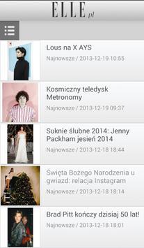 ELLE.pl screenshot 1