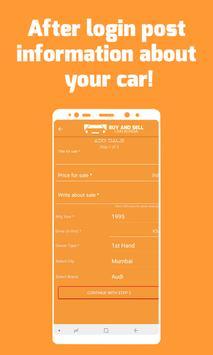 Buy and Sell Cars - India screenshot 3