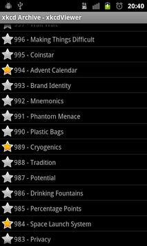 xkcdViewer apk screenshot