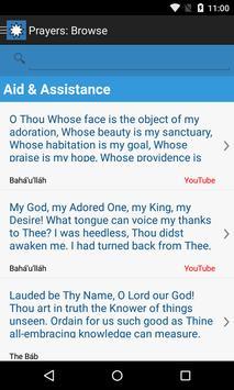 Baha'i Prayers and Writings poster