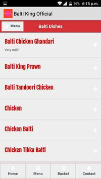 Balti King apk screenshot
