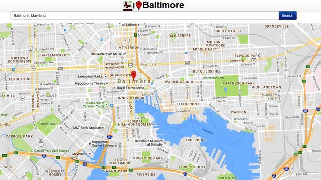 Baltimore Map apk screenshot