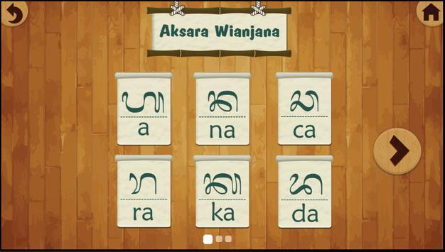 Learning Aksara Bali (Lite) apk screenshot