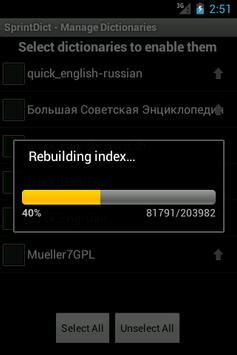 SprintDict apk screenshot