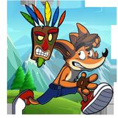 Bandicoot Crashes The Enemies icon