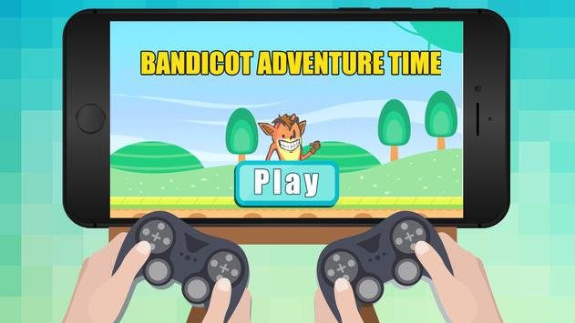Bandicoot Adventure Time poster