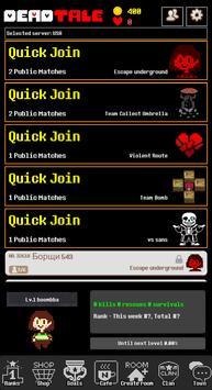 Deadtale Online for Undertale apk スクリーンショット
