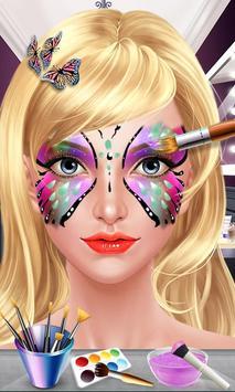 Face Paint Beauty SPA Salon poster
