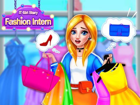 IT Girl Fashion Intern: Love & Romance Story Games poster