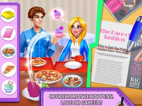 IT Girl Fashion Intern: Love & Romance Story Games screenshot 7