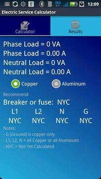 Electric Service Calculator screenshot 4