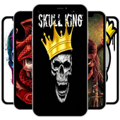 Skull King Wallpapers (Free) icon