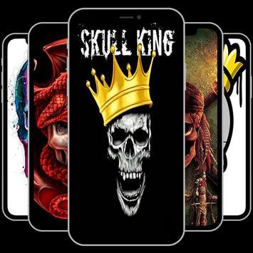 Skull King Wallpapers (Free) poster
