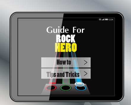 Guide Rock Hero apk screenshot