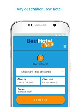 BestHotelOffers - Hotel Deals and Travel Discounts apk screenshot