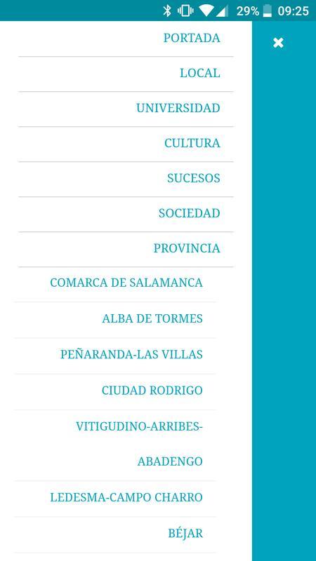 Salamanca 24 horas apk download free news magazines for Salamanca 24 horas