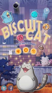 Biscuit Cat poster