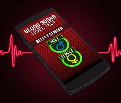 Normal finger Blood Types - Scan Pressure Prank screenshot 1