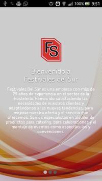Festivales Del Sur poster