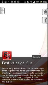 Festivales Del Sur screenshot 1