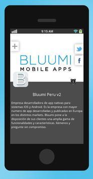Bluumi Peru v2 poster