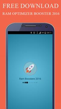 RAM Optimizer Booster 2016 poster
