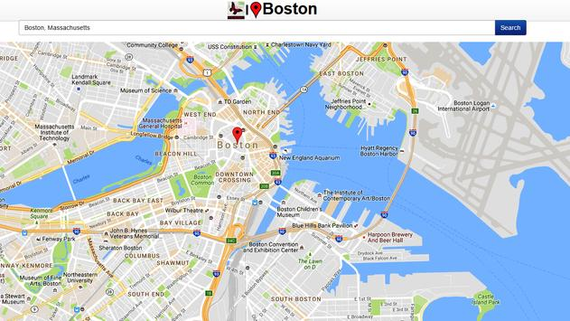 Boston Map apk screenshot