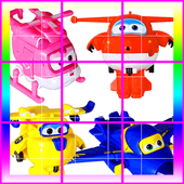 New Super Wings Puzzle icon