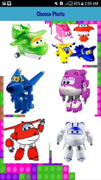 New Super Wings Puzzle screenshot 8