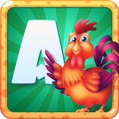 Russian ABC for kids, Alphabet icon