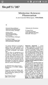 Atlas de Poche Pharmacologie screenshot 11