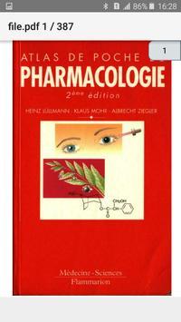 Atlas de Poche Pharmacologie screenshot 1
