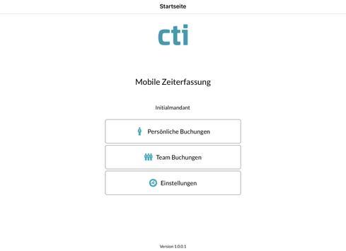 CTI Mobile ZE apk screenshot