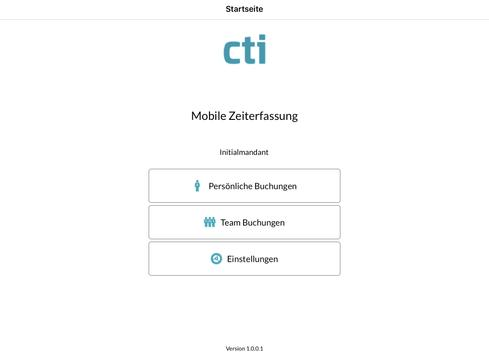 CTI Mobile ZE screenshot 4