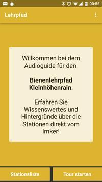Audioguide Bienenlehrpfad poster