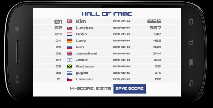 Xonix apk screenshot