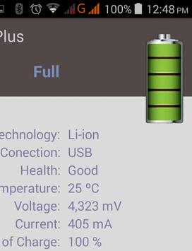 Battery Plus screenshot 1