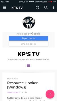 KP'S TV poster